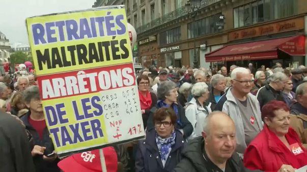 En France, la grogne des retraités