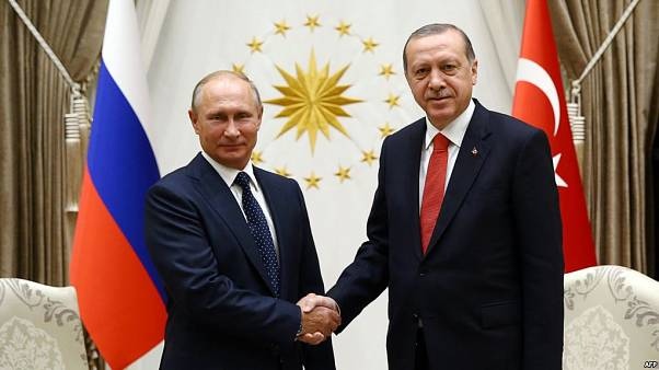 Erdogan and Putin face to face in key regional talks