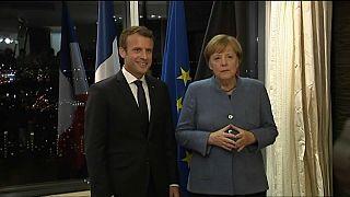 Macron und Merkel einstimmig