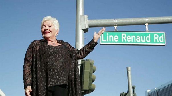 Line Renaud a sa rue à Vegas