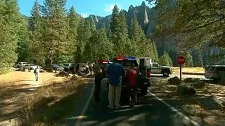 Emergenza crolli al Parco di Yosemite in California