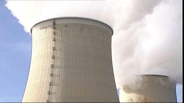 La centrale nucléaire du Tricastin à l'arrêt