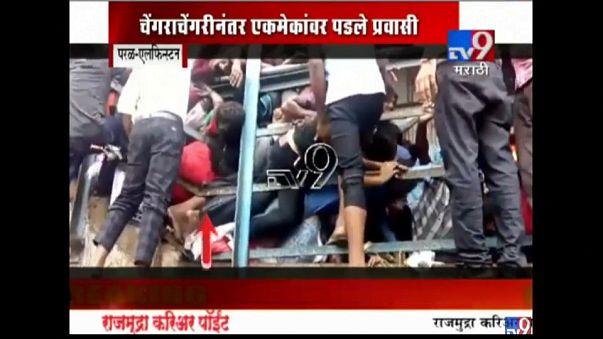 Massenpanik in Mumbai: Mindestens 22 Tote