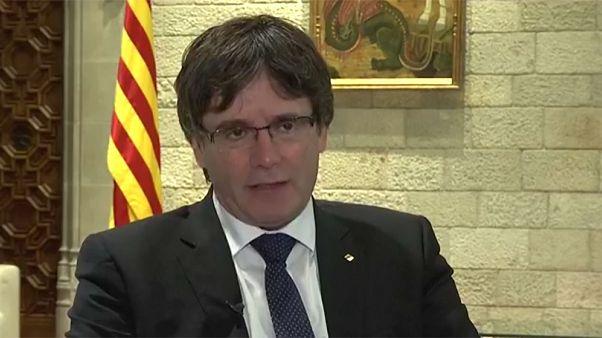 """Puigdemont, entrevista completa para Reuters: """"No va a haber una declaración unilateral de independencia"""""""