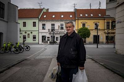 "Anton Soják, 61, said he had never voted in any European Parliament election. ""I hardly knew the vote was taking place,"" the retired plumber said. ""I'm not interested in politics and I don't know any of the candidates — I don't want to vote for people I don't know."""