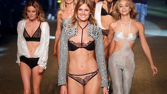 Paris Fashion Week: Silk, sequins and sultry underwear