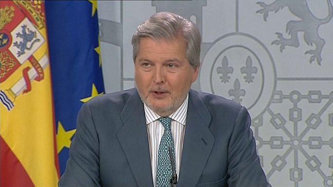 Declaración completa del portavoz del Gobierno de España sobre el referéndum en Cataluña