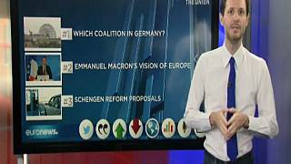 Una vittoria amara per Angela Merkel, un discorso europeo appassionato del presidente francese