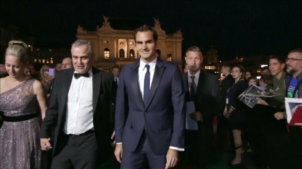"""""""Borg-McEnroe"""" al Festival di Zurigo, l'omaggio di Federer"""