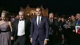 """Federer assiste ao filme """"Borg vs McEnroe"""""""