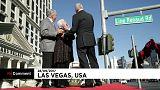 Line Renaud a désormais sa rue à Las Vegas