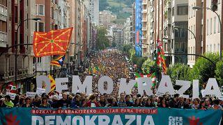 Baszkföldön is figyelik a katalán népszavazást