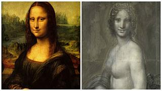 هل رسم ليوناردو دا فينشي لوحة عارية للموناليزا؟