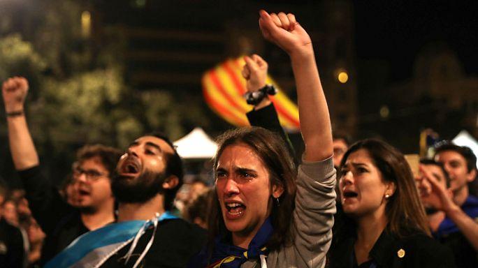 """Crónica del referéndum de independencia de Cataluña. Victoria del """"Sí"""" con el 90%"""