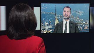 Luca Visentini, secretario general de la Confederación Europea de Sindicatoscontra el dumping social