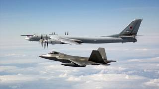 Two pairs of F-22 fighter jets from NORAD positively identified and interce