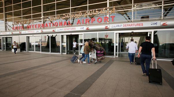 بدء تطبيق حظر الطيران الدولي على مطارات كردستان