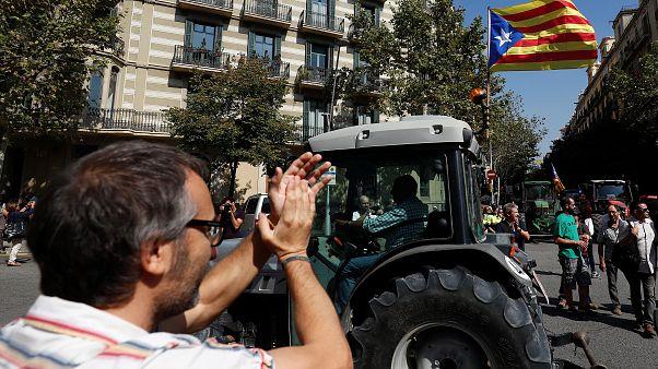 Tratores pela independência da Catalunha