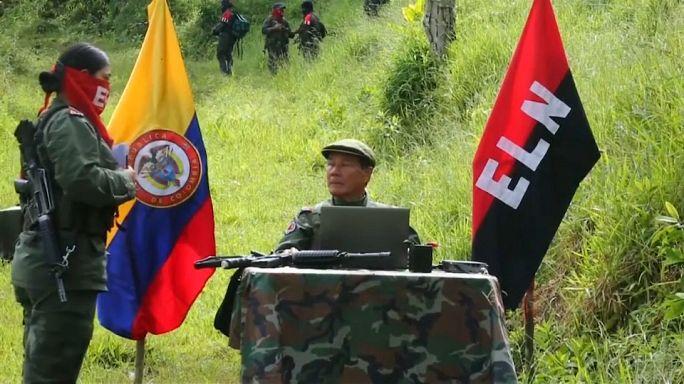 Colombia's ELN rebels to begin ceasefire