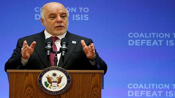 العراق: زيارة العبادي لفرنسا لا علاقة لها بأزمة الاستفتاء