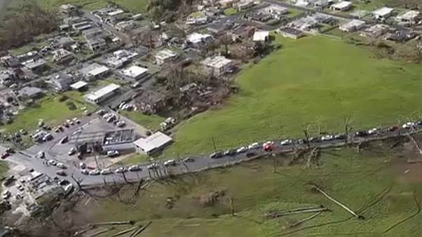 Puerto Rico angry at US hurricane aid effort
