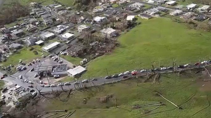 Trump:Porto Riko'ya yardımda olağanüstü iş çıkardık