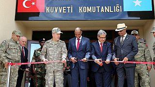 Somalia hosts Turkey's largest overseas military base