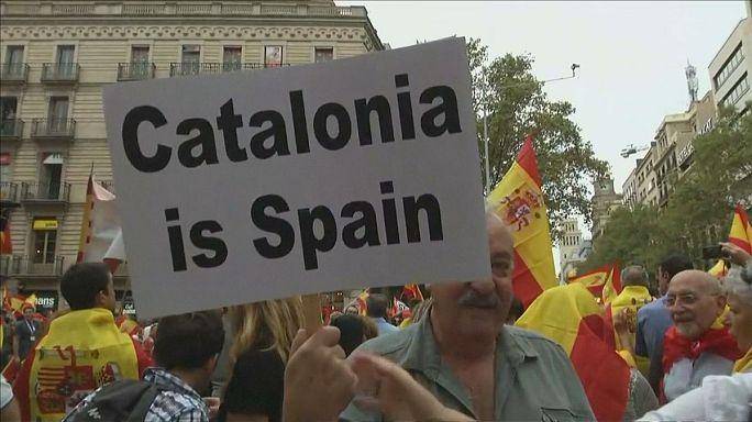 Catalães mantêm-se firmes no referendo pela independência