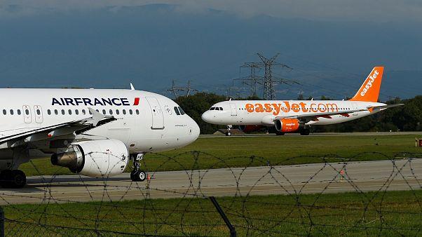 """هبوط إضطراري لأحدى طائرات """"إير فرانس"""" بعد ضرر جسيم في المحرك"""