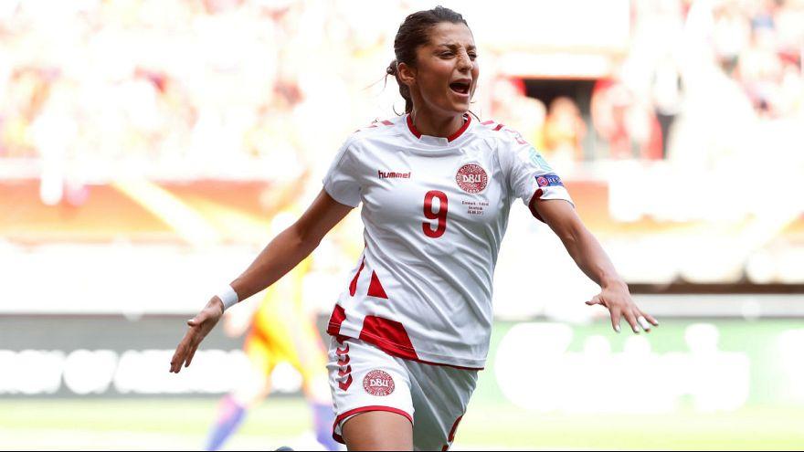 گام بلند دیگر برای دختر فوتبالیست افغانستانی تبار؛ نادیه ندیم