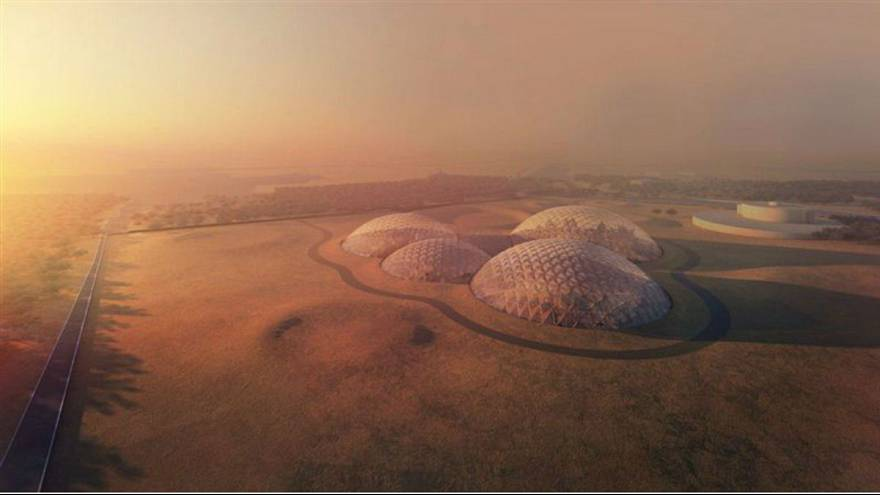 UAE brings life on Mars to Earth with giant space city