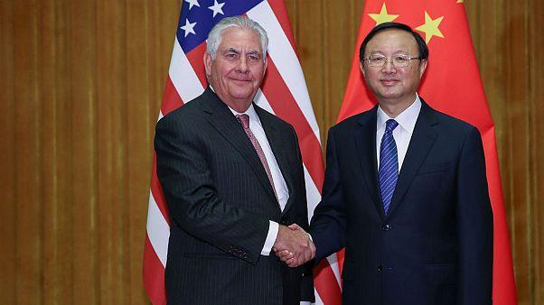 تیلرسون: آمریکا با کره شمالی تماس مستقیم داشته است
