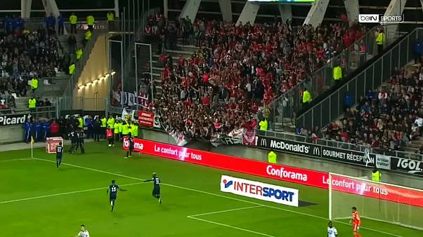 Casi 30 heridos durante una avalancha en un partido de primera división en Francia