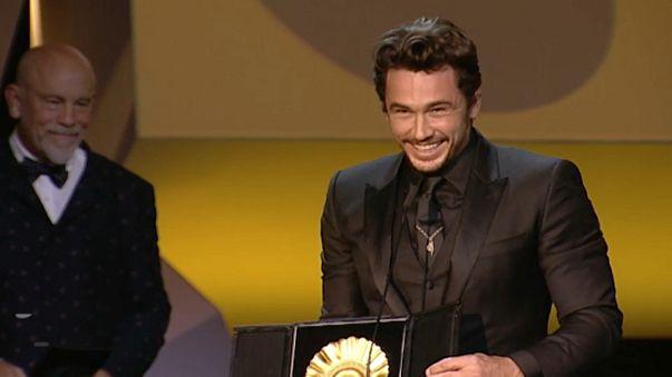 James Franco se lleva la Concha de Oro en el Festival de San Sebastián