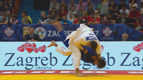Zagreb Judo Grand Prix'sinde 2. gün geride kaldı