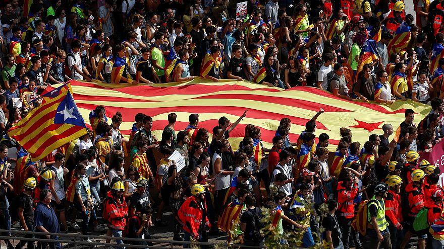 همه آنچه که در روز همهپرسی استقلال کاتالونیا اتفاق افتاد