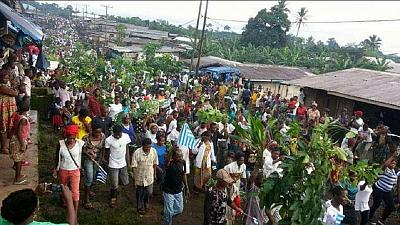 A youth shot dead in Cameroon's troubled Anglophone region