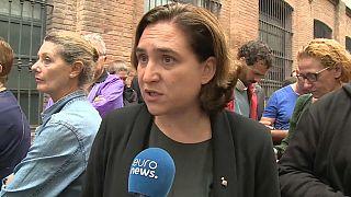 La alcaldesa de Barcelona exige la dimisión de Rajoy