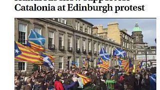 İskoçlardan Katalanlara referandum desteği