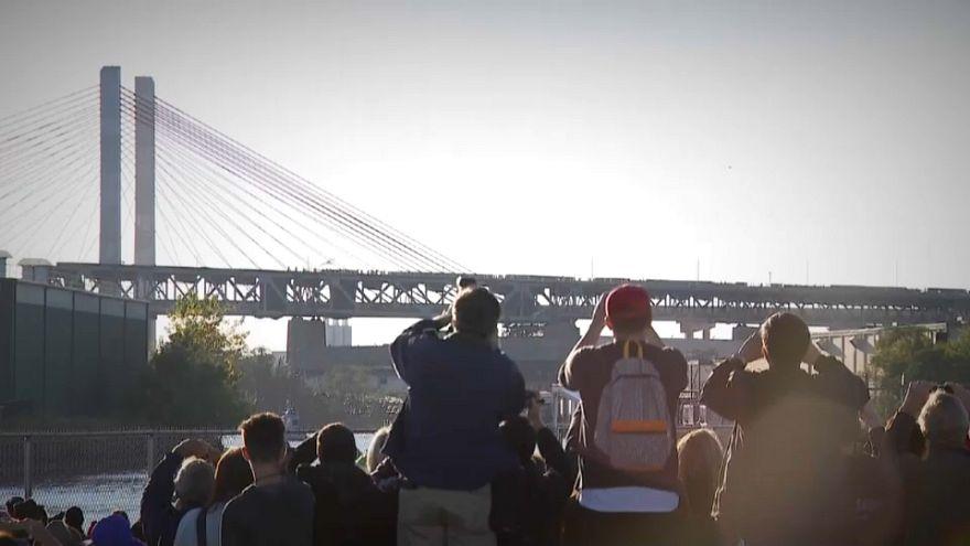 Νέα Υόρκη: Κατεδάφιση γέφυρας 78 ετών