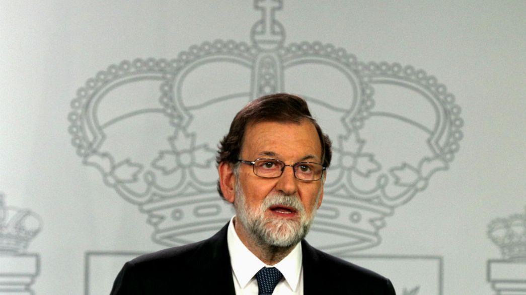 """Rajoy: """"Abbiamo solo applicato la legge"""""""