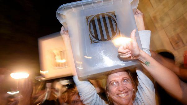 Recuento de votos en Cataluña