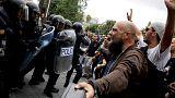 Erőszakos oszlatás, több száz sérült Katalóniában