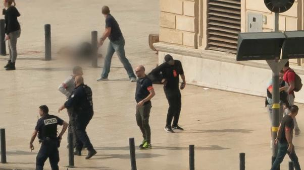French police say stabbings in Marseille are