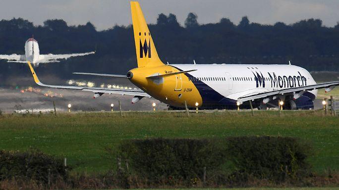 La compagnie britannique Monarch Airlines en faillite