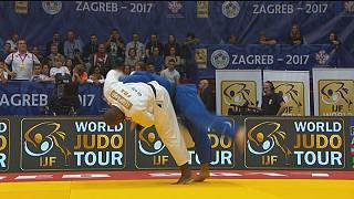 Teddy Riner delivers gold-plated performance at Zagreb Grand Prix