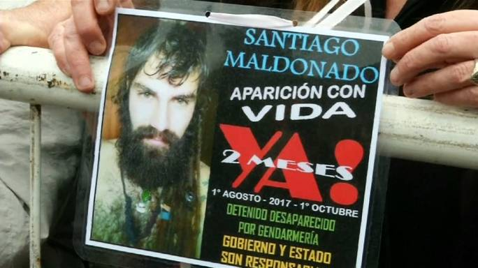 Arjantinliler Maldonado'nun akibetini sordu
