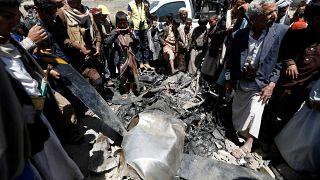 الحوثيون يسقطون طائرة أمريكية بدون طيار في صنعاء