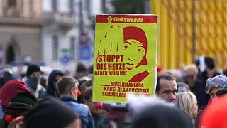Viyana'da protesto: Müslümanların ötekileştirilmesine Hayır