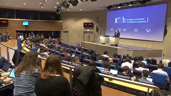 Tibia reacción de Bruselas a los sucesos en Cataluña